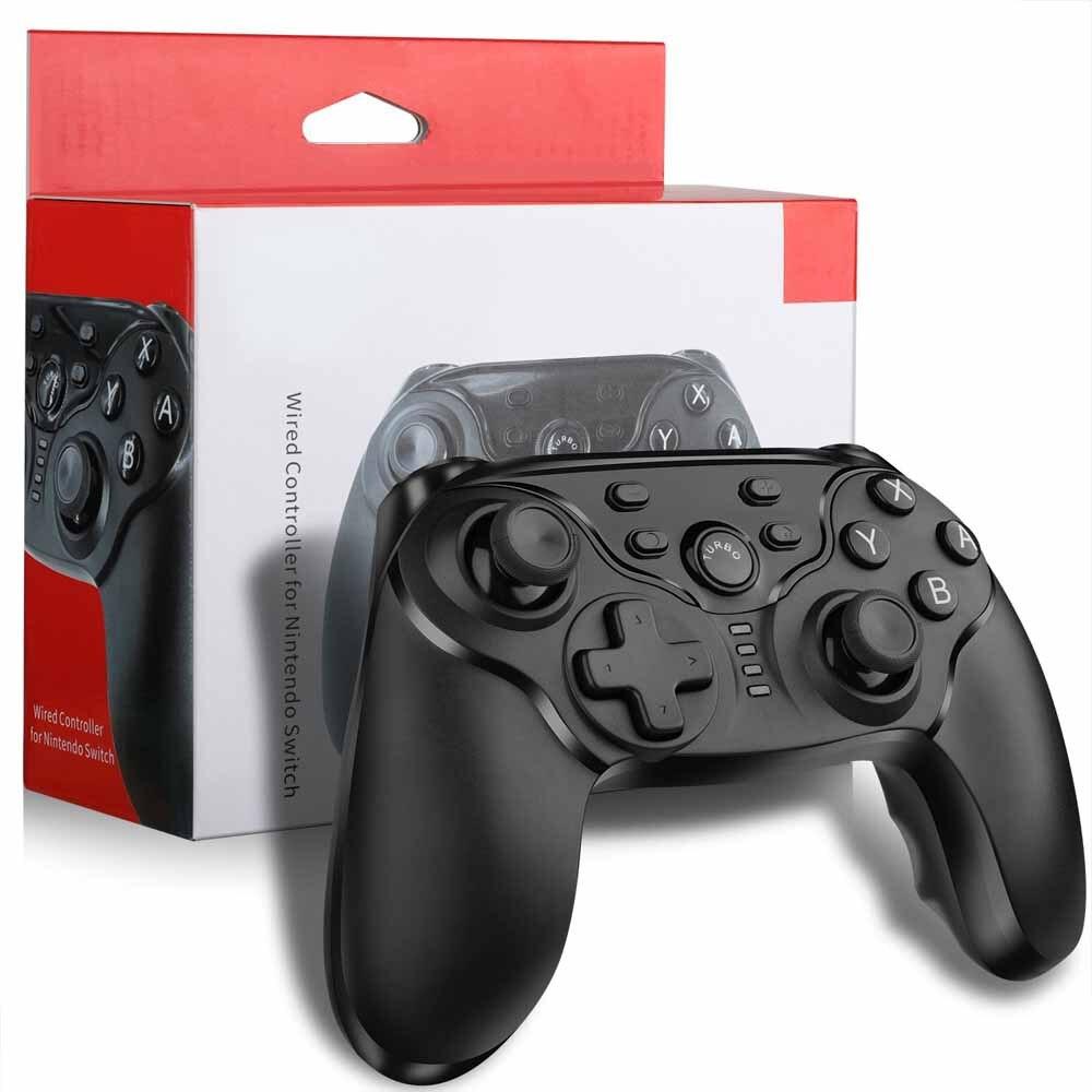 Купить с кэшбэком Nintend Switch Wireless Game Controller USB Bluetooth Wireless Gaming Controller Gamepad Joypad for Nintendo Switch