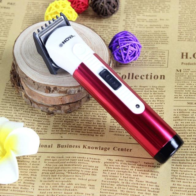 Nueva Alta Calidad Electric Man Pelo Del Bebé Clipper Trimmer razor máquina de Afeitar Recargable YY0182 de Dos Colores El Envío Libre