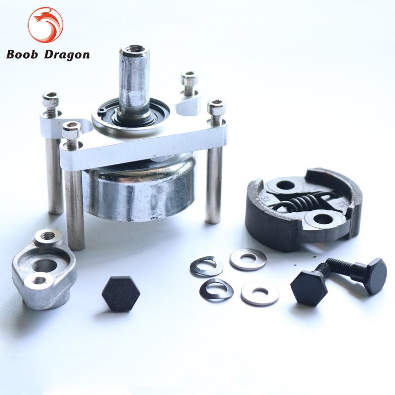 Rc Boat Clutch&engine mount for 26cc Zenoah engine Parts cnc aluminum water cooling jacket for 29cc zenoah engine rc boat