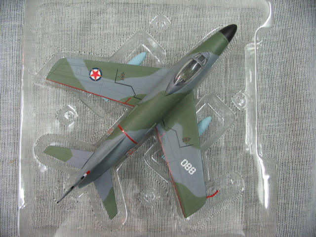 Out of print Special original Falcon 1:72 Yugoslavia Air Force fighter model of F-86D alloy Holiday gifts force f k2463