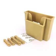 Mini Car Cell Phone Holder Black Mobile Phone Charge Box Holder Pocket Organizer Car Seat Bag Storage Multifunctional