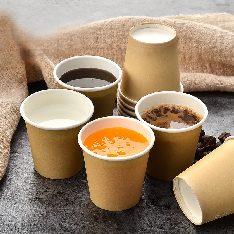 US $84 9 |1000pcs 2 OZ 60ml Wholesale high quality disposable kraft paper  cups, drinking paper cups, tasting cups-in Disposable Party Tableware from