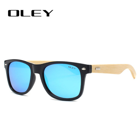 OLEY New Bamboo Polarized Sunglasses Men Wooden Sun glasses Women Brand Designer Original Wood Glasses masculino Lahore