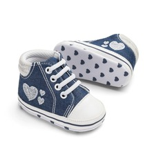 Newly Baby Shoes Toddler Girls Boys Non-Slip Pre-walkers Sof