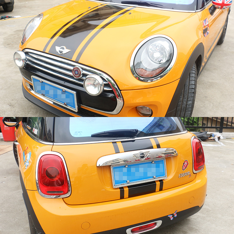 Sportive cool car refit vinyl sticker,automobile decoration car accessories decals cover for MINI Cooper and so on so cool плавки