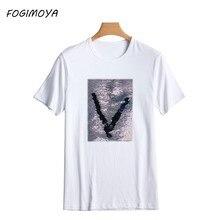 53763de5bd Sequin T Shirt-Acquista a poco prezzo Sequin T Shirt lotti da ...