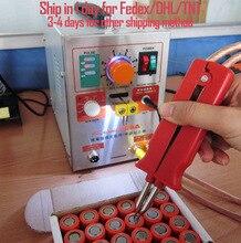 1.9kw 110 V SUNKKO LED 709A Pulso Battery Spot Soldador con Soldadura de Hierro Estación de Soldadura por puntos Máquina 18650 16430 14500 batería