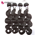 Fabwigs Brazilian Virgin Hair Body Wave 4 Bundles Unprocessed Human Hair 7A Brazilian Hair Weave Bundles Brazilian Body Wave