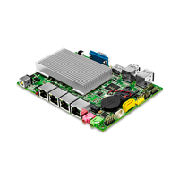 Cheap Fanless X86 Nano Mini ITX Motherboard Intel Dual Core 3215U 1 7GHz 4 LAN 1HD