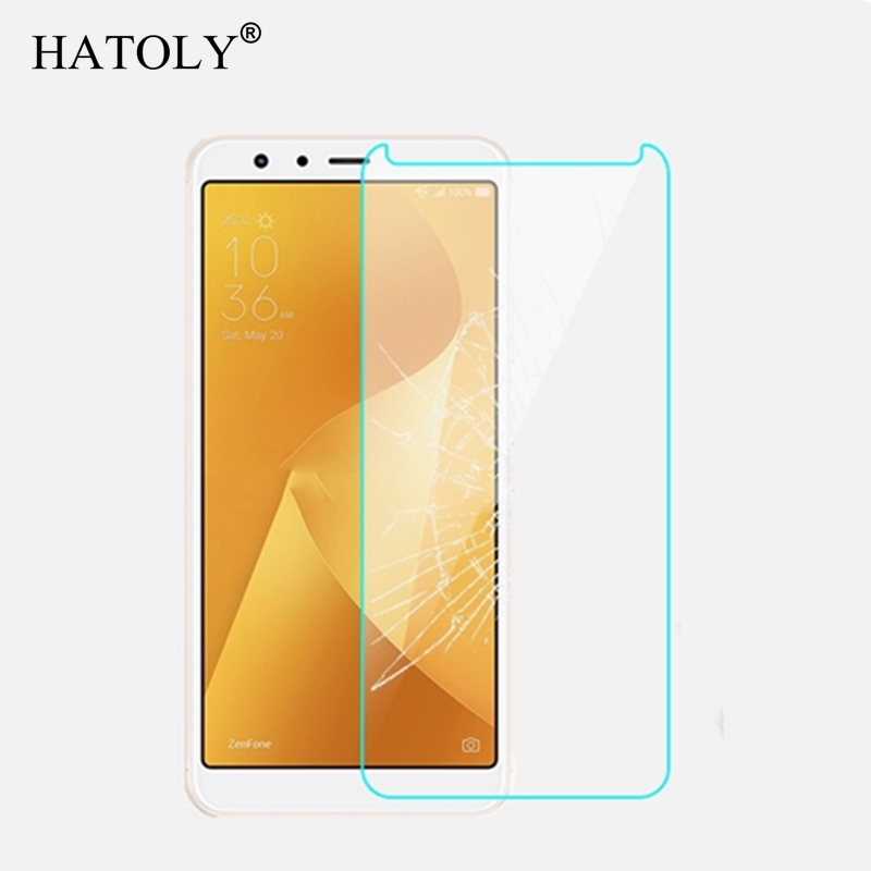 2PCS Screen Protector Glass For Asus Zenfone Max Plus M1 ZB570TL Tempered Glass For Asus Zenfone Max Plus ZB570TL Glass HATOLY in Phone Screen Protectors from Cellphones Telecommunications