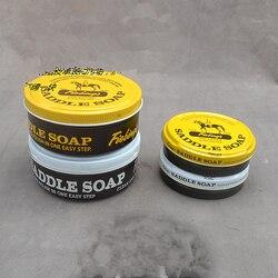 Rozpuszczalny w wodzie handmade DIY skóry warzyw skóry garbowanej do czyszczenia mydło siodłowe Fiebing skórzane do czyszczenia odkażanie mydło|Zestawy narzędzi kaletniczych|   -
