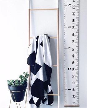 Regla de altura de bebé nórdica INS, decoración de pintura artística de pared, los mejores regalos de Navidad para niños, accesorios de fotografía, colgante creativo