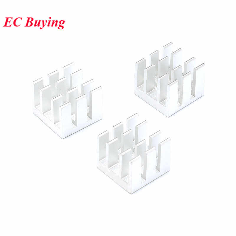 5pcs 13*13*11MM 방열판 라디에이터 쿨러 냉각 핀 알루미늄 메모리/MOS 튜브 방열판 칩 LED 13X13X11MM