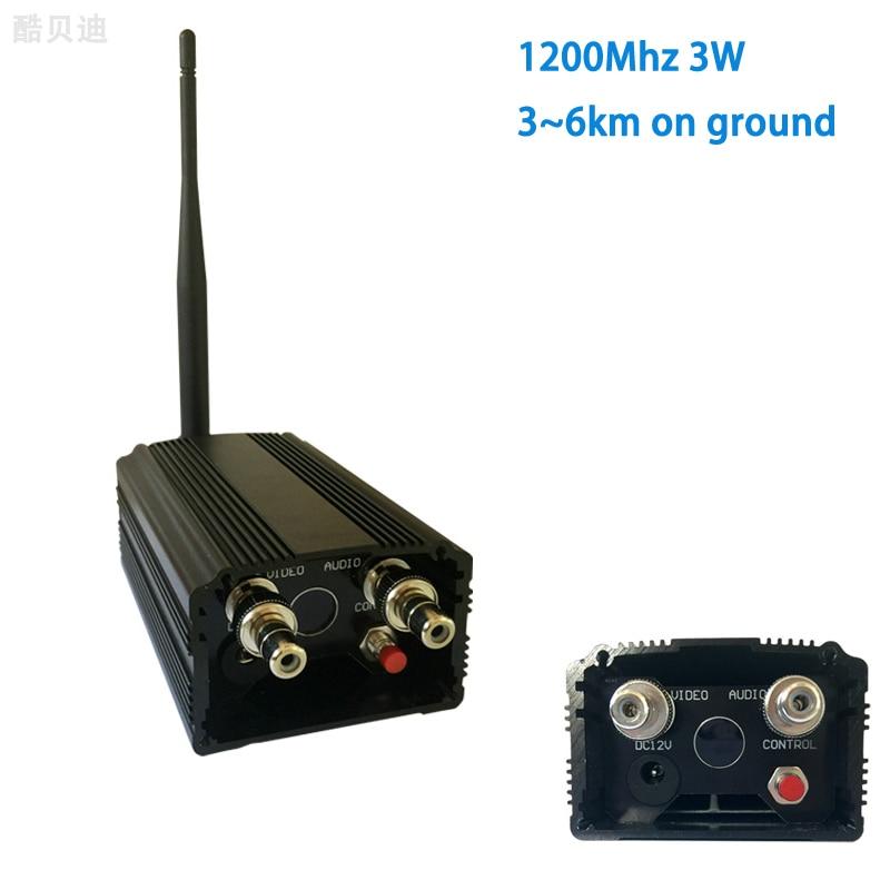 UGV / UAV 1.2Ghz сымсыз таратқышы 3000 мВт - Камера және фотосурет - фото 1