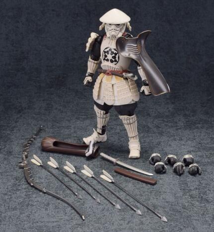 Star Wars MOVIE REALIZATION STORMTROOPER Yumiashigaru Action Figure Toys 18cm