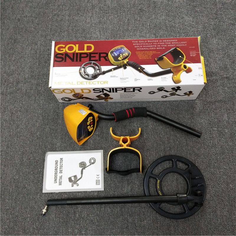 Factory Wholesale Underground Metal Detector for Copper,Silver and Gold of Underground Model MD-3010II Color Box