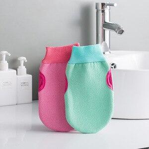 Image 2 - 1 stück Mode Kurze Bad Ball Bathsite Badewannen Kühlen Ball Bad Handtuch Wäscher Körper Reinigung Handschuh Dusche Waschen Schwamm produkt