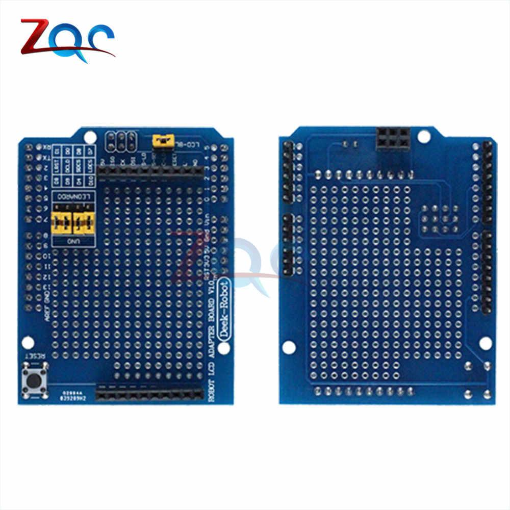 Carte d'extension de carte adaptateur LCD 1.8 ''TFT pour Arduino UNO R3 pour Leonardo R3 Esplora Module d'affichage TFT 1.8 pouces