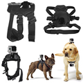 Back Mount Strap For GoPro Hero 5 Session/ 5/ 4s/ 4/ 3+/ 3/2/ SJ6000 SJ5000 SJ4000/ Xiaomi Yi Hound Fetch Dog Pet Harness Chest