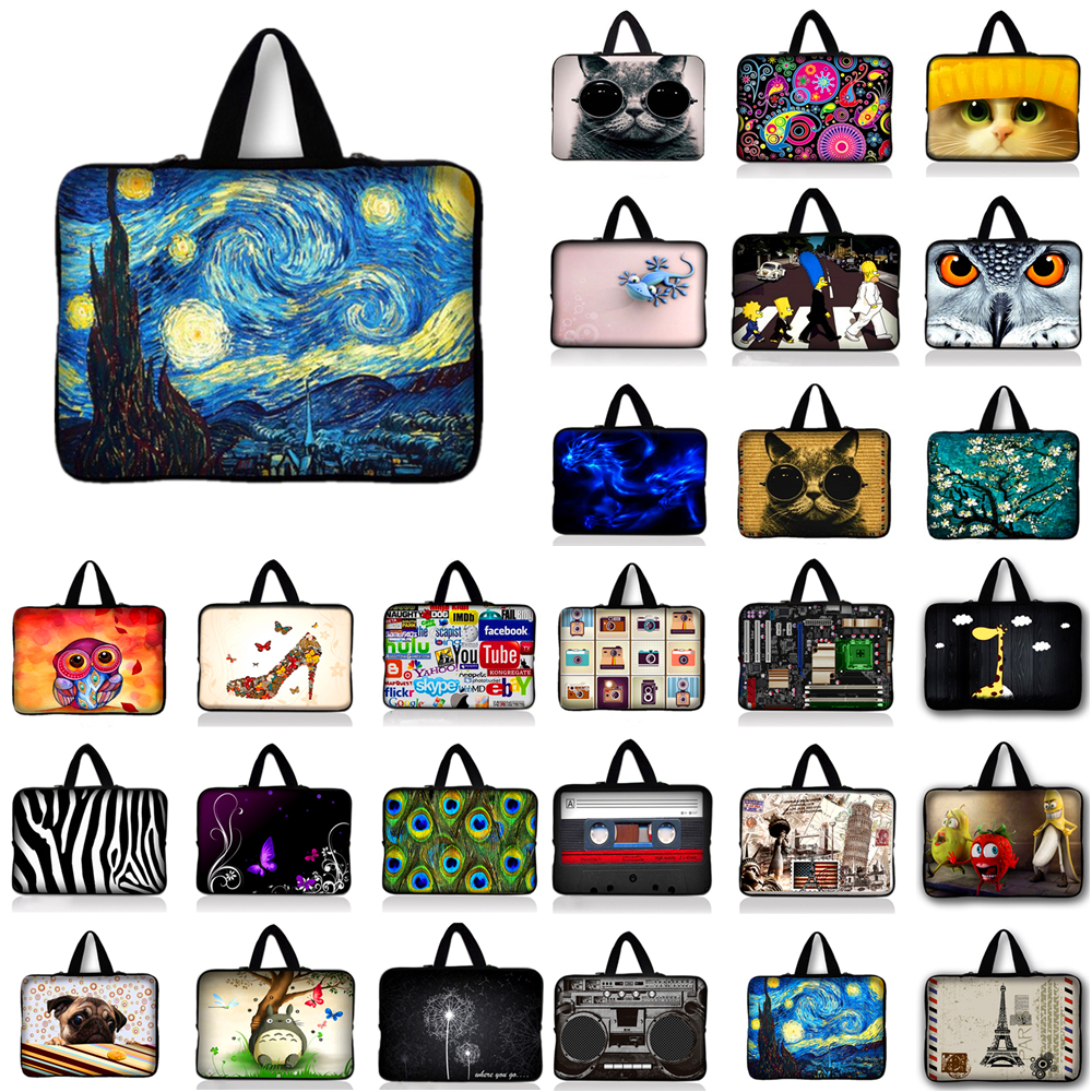 New waterproof laptop bag case notebook Sleeve cover bag 10.1 11.6 12 13.3 14 15.4 15.6 inch for Apple Lenovo Dell Computer bag