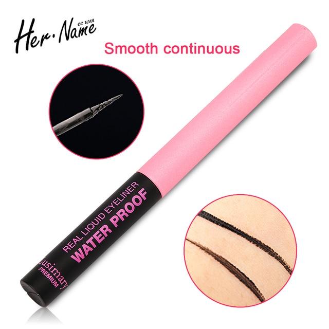 Her name liquid eyeliner waterproof  makeup eyes tools eye tattoo eyeliner pen black eye pencil Easy on the makeup long-lasting