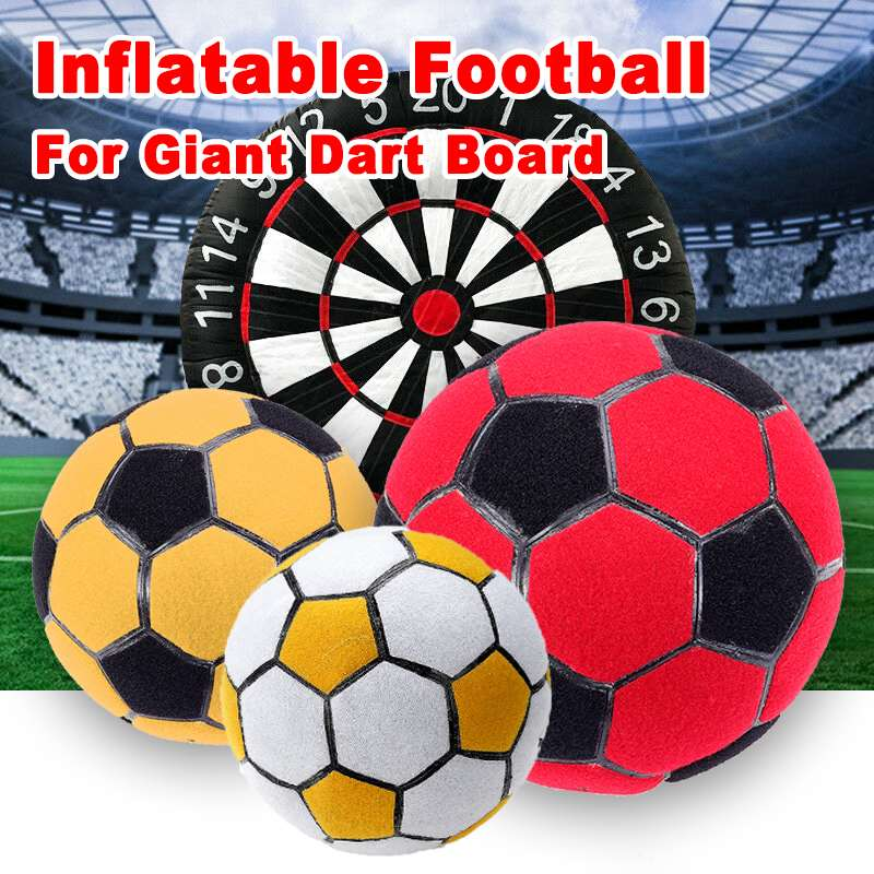 1 Pc Inflatable Soccer Football For High Giant Inflatable FootBall Dart  Training Equipment Board Game Outdoor Sport Game Soccer