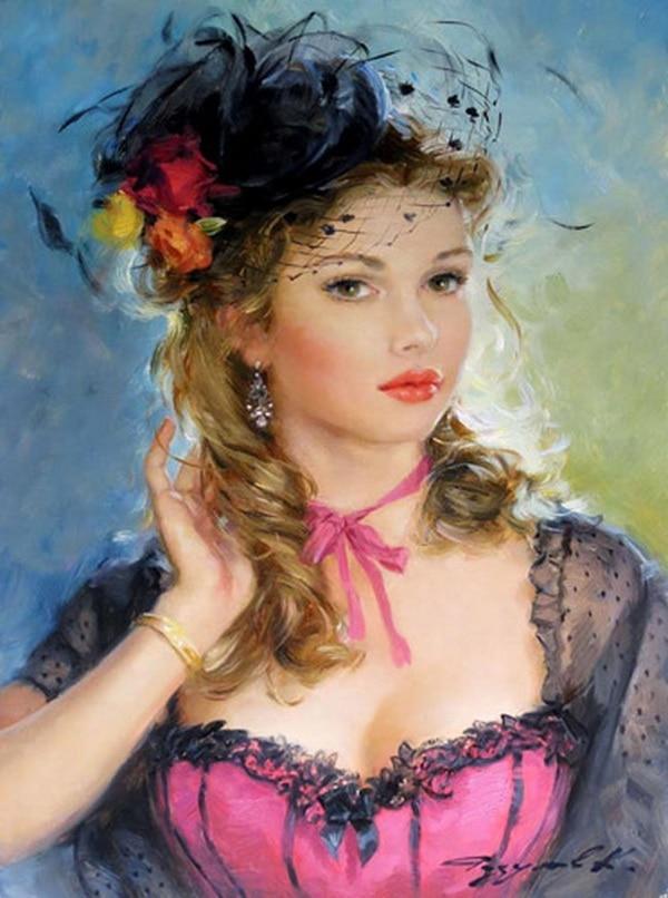 Peinture à lhuile par numéros et nombres   Bricolage sans cadre, peinture sur toile pour décoration de maison, peinture identique à la fleur, 4060