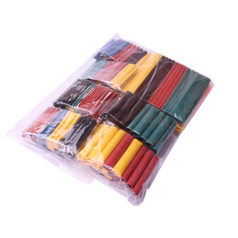 Glyduino 328 PCS Polyolefin Assorted Heat Shrink Tubing Wrap Wire Cable Insulated Shrinkable Sleeving Tube Set