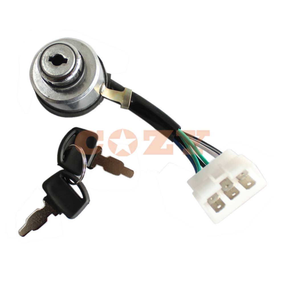 Generator Ignition Key Switch For Powerland 4400E 6500E 8500E 10000E 6.5 13  16HP-in Tool Parts from Tools on Aliexpress.com | Alibaba Group