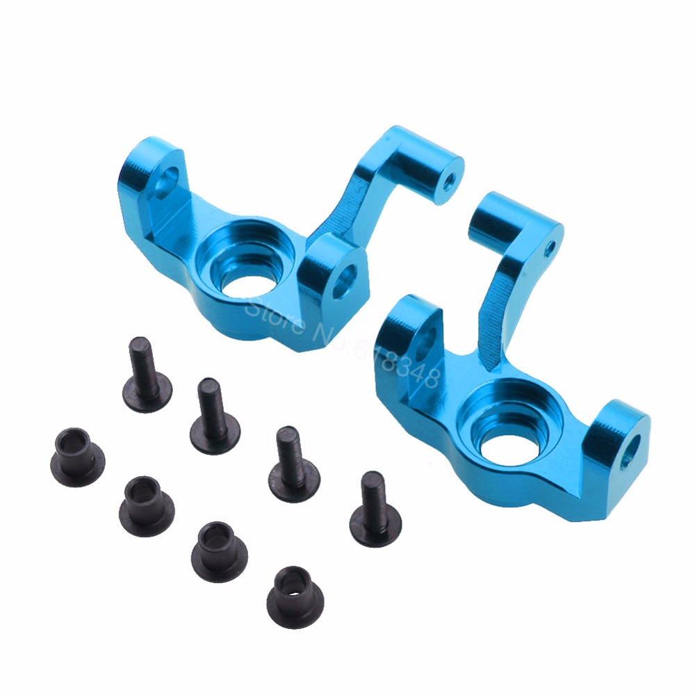 Aluminum Steering Hub Carrier Knuckle (L/R) 0005 For WLtoys 12428 12423 1/12 Scale Crawler Short Course Truck Upgrade Parts europa uno trade шар 12 неон ассорти 100шт 1101 0005