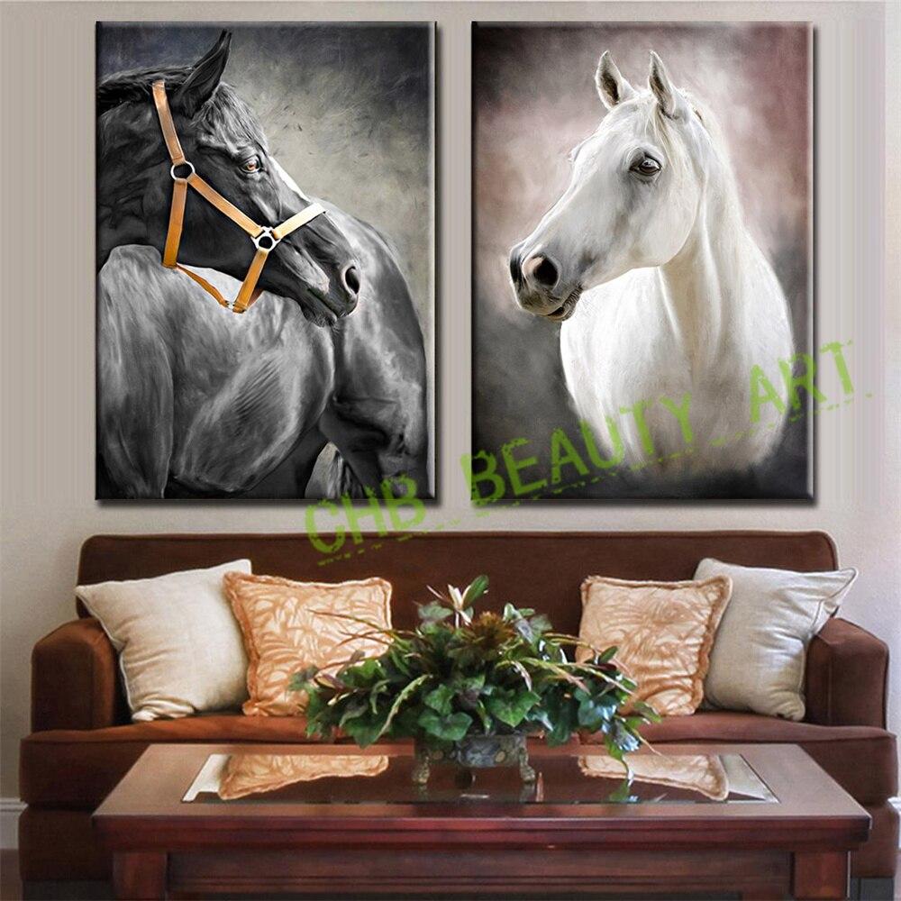 Witte muur schilderijen promotie winkel voor promoties witte muur ...