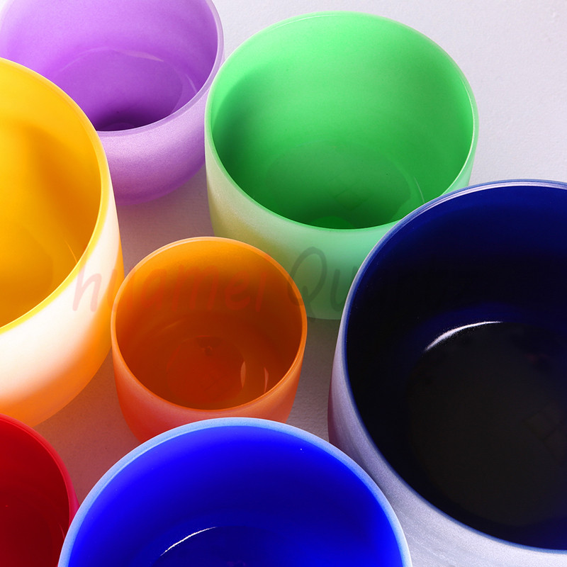 Color Chakra afinado conjunto de 7pcs 8