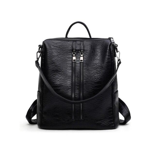 Рюкзак через плечо чёрная кожаная на плече рюкзак piquadro coleos