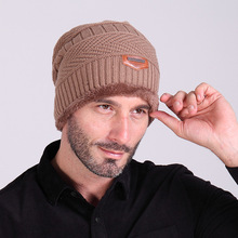 Skullies и шапочки новых осень зима мужчины и женщины шляпы и шапки с мягким ворсом хип горячее hat согреться вязаные