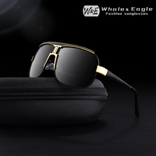 New Pilot Sunglasses Men W&E Polarized UV400 Fashion High Quality Driving Classic Brand Retro Women Glasses Cool
