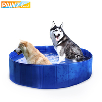 Collapsible Pet Bathtub Big size Multi functional Dog Cat Swimming Pool No Leakage With Rapid Water Mouth Pet Summer Product