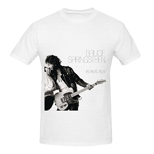 Hotsale Tee Store Bruce Springsteen Born To Runer Soul Mens Crew Neck Graphic Shirts