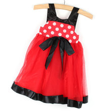 New Arrival Polka Dots Baby Girl Toddler Wedding Party Pageant Bubble Dress Tulle Tutu Dress