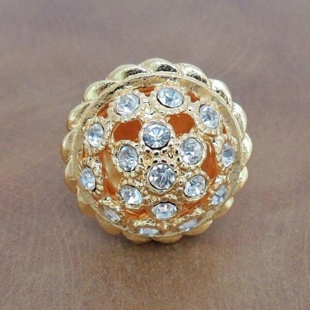 Gold Kristall Schrank Knöpfe mit Glänzenden Diamant Küche Hardware ...