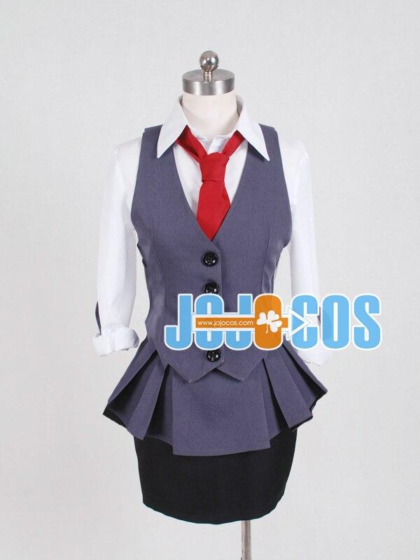 full set Tokyo Ghoul Kirishima Touka working uniform Cosplay Costume Anime Japanese halloween 4 in 1