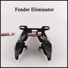 Fender Eliminator Registration Plate Holder License Frame for HONDA CBR600RR 2007 2008 2009 2010 2011 for honda cbr600rr 2007 2013 08 09 10 11 12 silver motorcycle fender eliminator registration license plate holder bracket