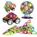64 ШТ. Магнитных блоков цвет Дизайнер Construction Set Модель и Образования Строительство Укладки Наборы Магнитный Блок Кирпич
