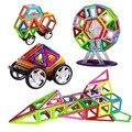 64 UNIDS Diseñador de color de bloques de construcción Magnética Conjunto Modelo de Construcción y Apilamiento Educativa Construcción Establece Ladrillos Bloque Magnético