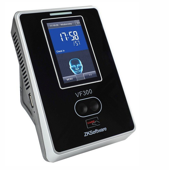 Hot selling Free shipping VF300 facial +ID time attendance terminal ZEM810 Hardware TCP/IP communication and USB Host