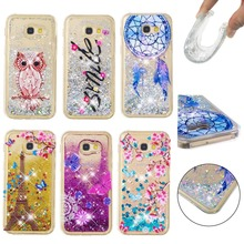 LUCKBUY Soft Case For Samsung Galaxy A310 A510 A320 A520 A3 A5 A8 A8Plus 2018 Dream Catcher Quicksand TPU Anti knock Cover