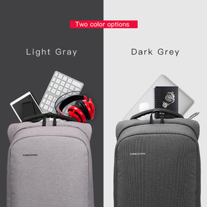 Image 3 - Kingsons Mens Backpack Fashion Multifunction USB Charging Men 13 15 inch Laptop Backpacks Anti theft Bag For Men