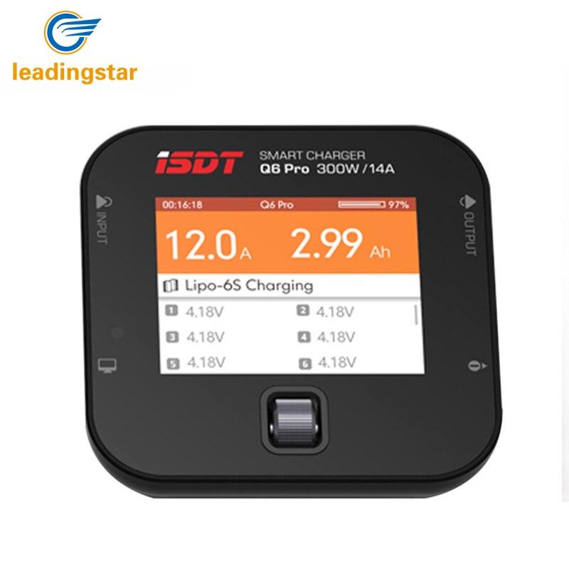 LeadingStar ISDT Q6 Pro BattGo 300 Вт 14A карман Lipo батарея баланс зарядное устройство, портативное зарядное устройство