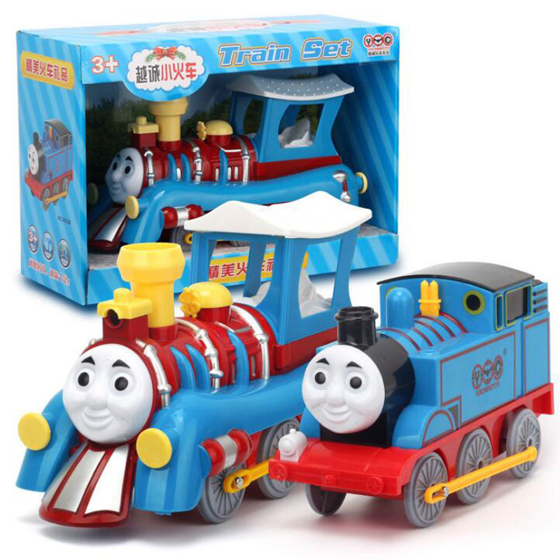 Thomas and Friend Track Master Motorized Railway Engine Motorized Train Chinldren Track Toys Kids Toys Cars Have Packing
