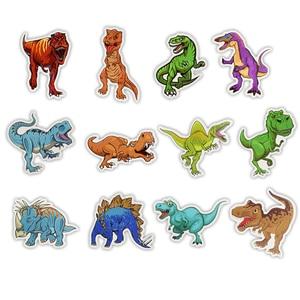 Image 3 - 50pcs/Set Animal Dinosaur Stickers Toys Children Waterproof Stickers To DIY Sticker on Laptop Skateboard Luggage Stickers
