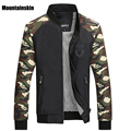 Mountainskin New Men's Camouflage Casual Jackets Men Spliced Thin Camo Coats Male Army Slim Fit Outerwear,Brand Clothing,SA018
